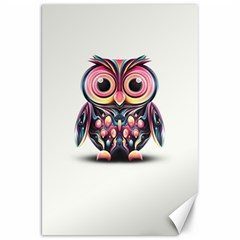 Owl Colorful Canvas 20  x 30