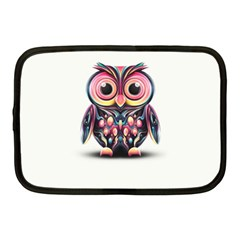 Owl Colorful Netbook Case (Medium)