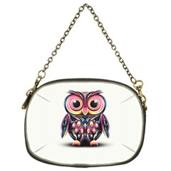 Owl Colorful Chain Purses (One Side)
