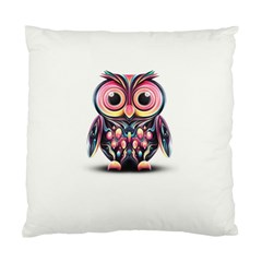 Owl Colorful Standard Cushion Case (One Side)