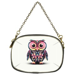 Owl Colorful Chain Purses (Two Sides)