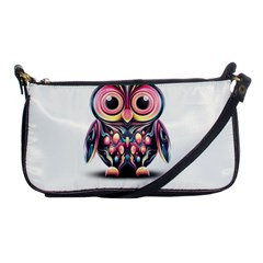 Owl Colorful Shoulder Clutch Bags