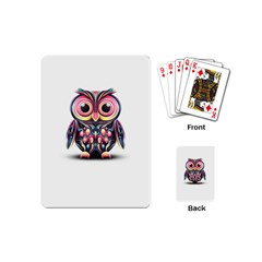 Owl Colorful Playing Cards (Mini)