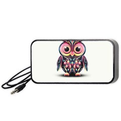 Owl Colorful Portable Speaker (Black)