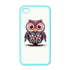 Owl Colorful Apple iPhone 4 Case (Color)