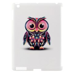 Owl Colorful Apple iPad 3/4 Hardshell Case (Compatible with Smart Cover)