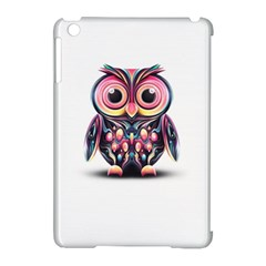 Owl Colorful Apple iPad Mini Hardshell Case (Compatible with Smart Cover)