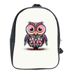 Owl Colorful School Bags (XL)
