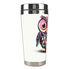 Owl Colorful Stainless Steel Travel Tumblers
