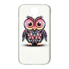 Owl Colorful Samsung Galaxy S4 Classic Hardshell Case (PC+Silicone)
