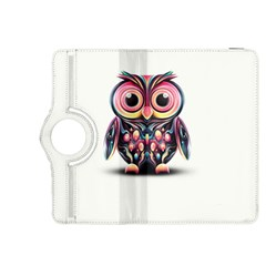 Owl Colorful Kindle Fire HDX 8.9  Flip 360 Case