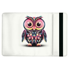 Owl Colorful iPad Air Flip