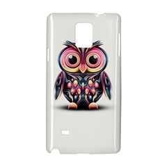 Owl Colorful Samsung Galaxy Note 4 Hardshell Case