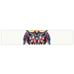Owl Colorful Flano Scarf (Small)