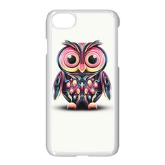 Owl Colorful Apple Iphone 7 Seamless Case (white)