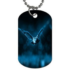 Night Owl Wide Dog Tag (Two Sides)
