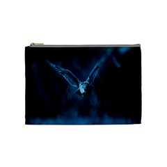 Night Owl Wide Cosmetic Bag (Medium)