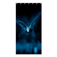 Night Owl Wide Shower Curtain 36  x 72  (Stall)