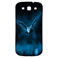 Night Owl Wide Samsung Galaxy S3 S III Classic Hardshell Back Case