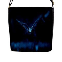 Night Owl Wide Flap Messenger Bag (L)