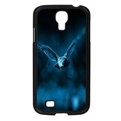 Night Owl Wide Samsung Galaxy S4 I9500/ I9505 Case (Black)