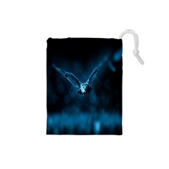 Night Owl Wide Drawstring Pouches (Small)
