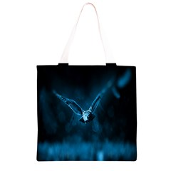Night Owl Wide Grocery Light Tote Bag