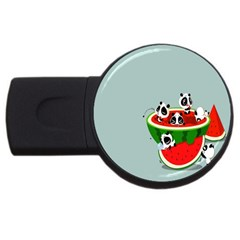 Panda Watermelon USB Flash Drive Round (4 GB)