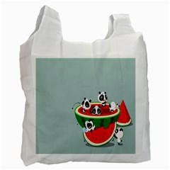 Panda Watermelon Recycle Bag (Two Side)