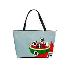Panda Watermelon Shoulder Handbags