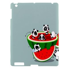 Panda Watermelon Apple iPad 3/4 Hardshell Case