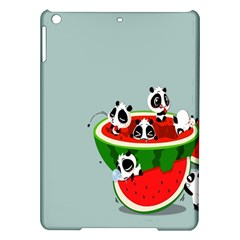 Panda Watermelon iPad Air Hardshell Cases