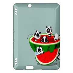 Panda Watermelon Kindle Fire HDX Hardshell Case