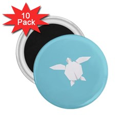 Pet Turtle Paper Origami 2.25  Magnets (10 pack)