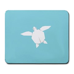 Pet Turtle Paper Origami Large Mousepads
