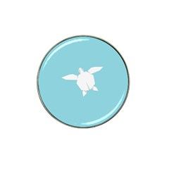 Pet Turtle Paper Origami Hat Clip Ball Marker (4 pack)