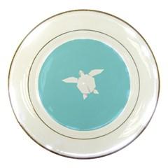Pet Turtle Paper Origami Porcelain Plates