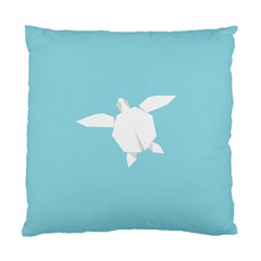 Pet Turtle Paper Origami Standard Cushion Case (One Side)
