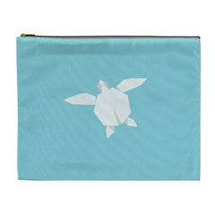 Pet Turtle Paper Origami Cosmetic Bag (XL)