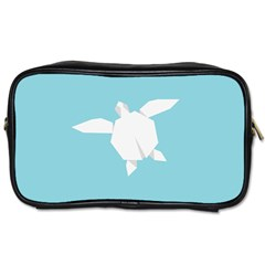 Pet Turtle Paper Origami Toiletries Bags