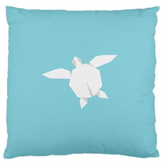 Pet Turtle Paper Origami Large Cushion Case (Two Sides)