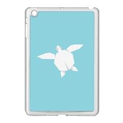 Pet Turtle Paper Origami Apple iPad Mini Case (White)