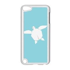 Pet Turtle Paper Origami Apple iPod Touch 5 Case (White)