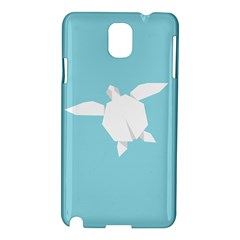 Pet Turtle Paper Origami Samsung Galaxy Note 3 N9005 Hardshell Case