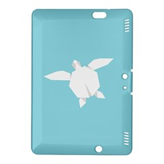 Pet Turtle Paper Origami Kindle Fire HDX 8.9  Hardshell Case
