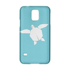 Pet Turtle Paper Origami Samsung Galaxy S5 Hardshell Case