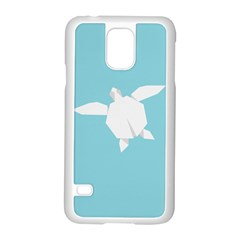 Pet Turtle Paper Origami Samsung Galaxy S5 Case (White)