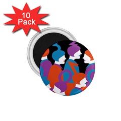 People 1.75  Magnets (10 pack)