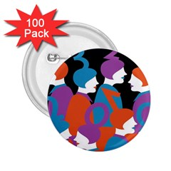 People 2.25  Buttons (100 pack)