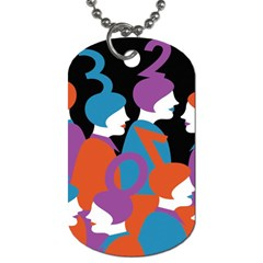 People Dog Tag (Two Sides)